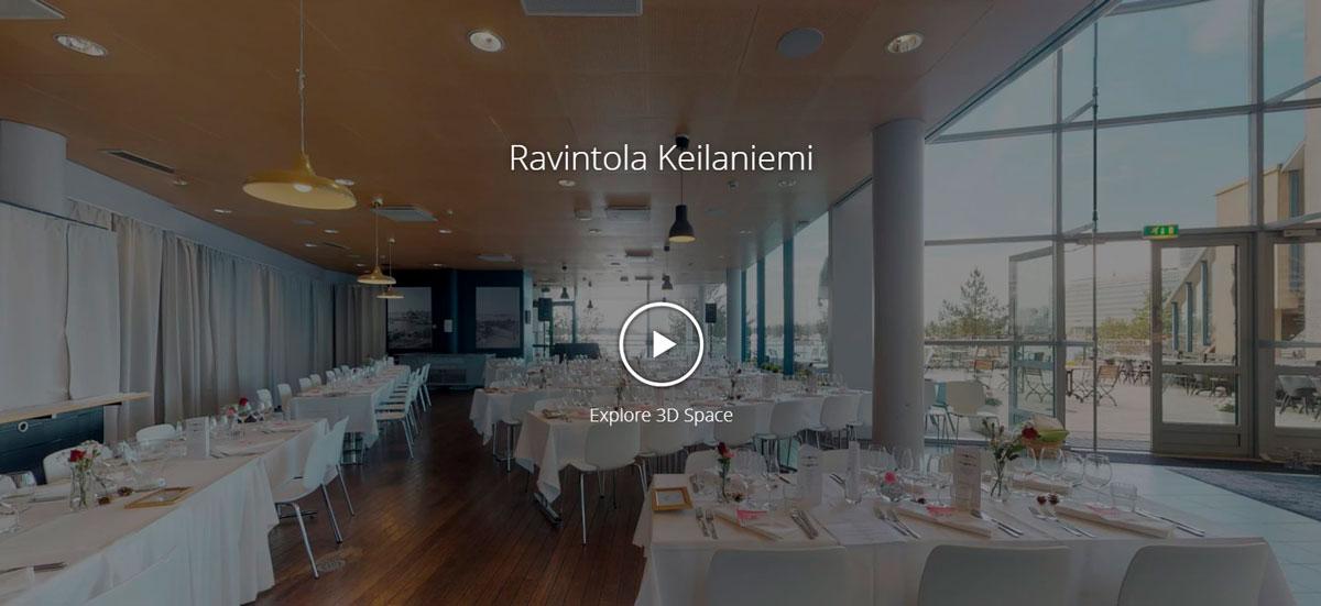 Ravintola Keilaniemi 3D-esittely
